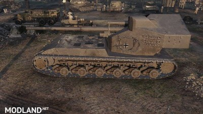 Maus Re-Model WT. Auf. E100 1.0 [1.0.0] - Direct Download image